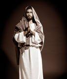 Prière de Jesuschrist Photographie stock libre de droits