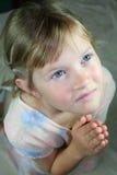 Prière de jeune fille. Photos stock