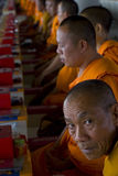 prière de moines Image libre de droits