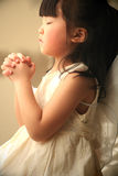 Prière de petite fille