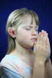Prière de petite fille. Photos libres de droits