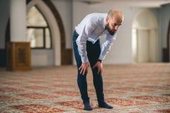Prière musulmane Image stock