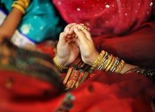 Prière musulmane indienne Image libre de droits