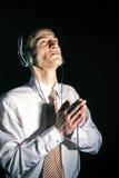 Prière pour la musique Images libres de droits