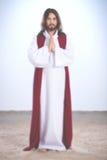 Prière ressuscitée de Jesus Christ Photos stock