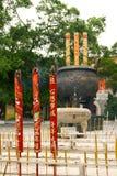 Prières bouddhistes Photo stock