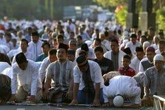 Prières d'Eid al Adha photographie stock libre de droits