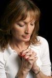Prières quotidiennes photographie stock