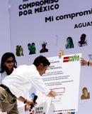 Pri-Anwärter für Präsident von Mexiko Lizenzfreie Stockfotografie