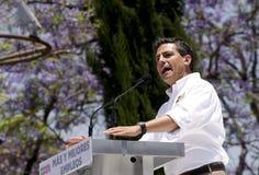 Pri-Anwärter für Präsident von Mexiko Lizenzfreie Stockbilder