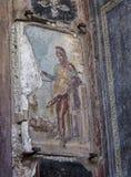 Priapus fresco Stock Image