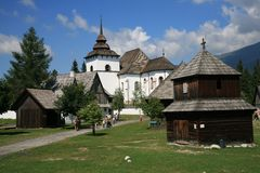 Pribilina, Eslovaquia Imágenes de archivo libres de regalías