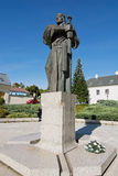 Pribina statua w Nitra Obrazy Stock