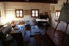 Pribylina - museo del aire abierto en la región Liptov, Eslovaquia Imagen de archivo