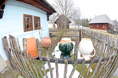 Pribylina - museum för öppen luft på regionen Liptov, Slovakien Royaltyfria Bilder