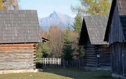 Pribylina - open air museum at region Liptov, Slovakia Stock Photo