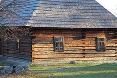 Pribylina - open air museum at region Liptov, Slovakia Stock Photography