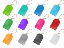 Price And Labels Tag Set Royalty Free Stock Photo
