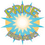 Price breakers Royalty Free Stock Image
