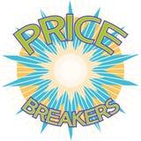 Price breakers Royalty Free Stock Image