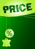 Price broken Royalty Free Stock Images