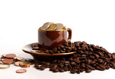 Price of coffee Stock Images