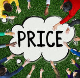 Price Cost Sell Marketing Strategy Concept Royalty Free Stock Photography