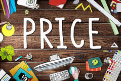 Price Cost Value Money Amount Rate Commerce Concept Royalty Free Stock Images