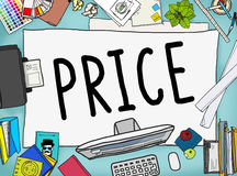 Price Cost Value Money Amount Rate Commerce Concept Royalty Free Stock Image
