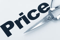 Price Cut Stock Photography