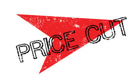 Price Cut rubber stamp Stock Image