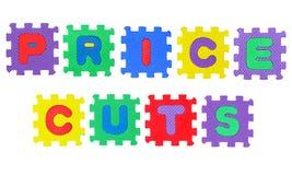 Price cuts Stock Photos