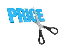 Price Cuts Concept Royalty Free Stock Image