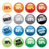 Price Down Royalty Free Stock Photography