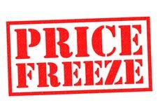 PRICE FREEZE Stock Image