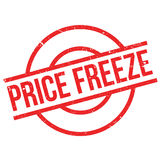 Price Freeze rubber stamp Royalty Free Stock Photo