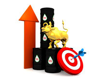 Price Of Fuel Concept Royalty Free Stock Photography