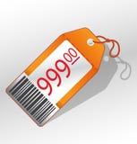 Price_label_1 Fotografía de archivo libre de regalías