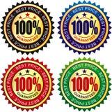 Price label Royalty Free Stock Photos