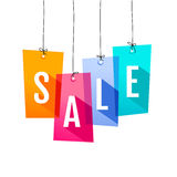 Price labels. Sale Royalty Free Stock Photos
