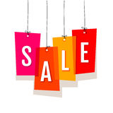 Price labels. Sale Stock Image