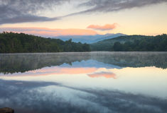 Price Lake Blue Ridge Pkwy North Carolina Royalty Free Stock Photo