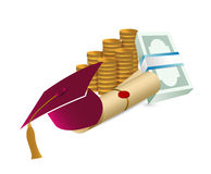 Price Leaving Certificate or training Royalty Free Stock Photos