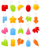 Price list4. Set of icons of price lists from the goods. A illustration vector illustration