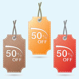 Price lists, tags for discounts, sales, offers. Vector Stock Photos