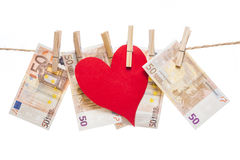 Price of love Stock Photo