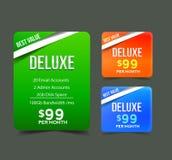Price Menu Design Template Stock Photography