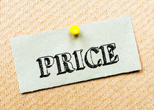 Price Message Stock Image