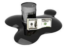 Price of Oil Royalty Free Stock Image
