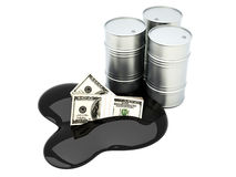 Price of Oil Stock Photography